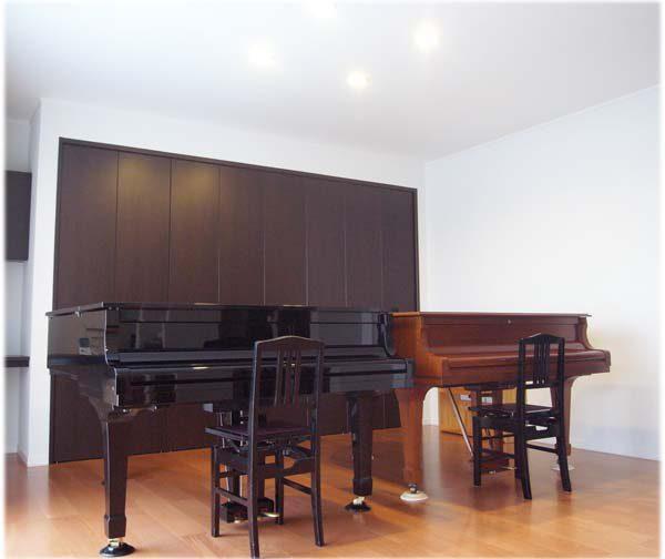 ピアノのある神楽のイエ